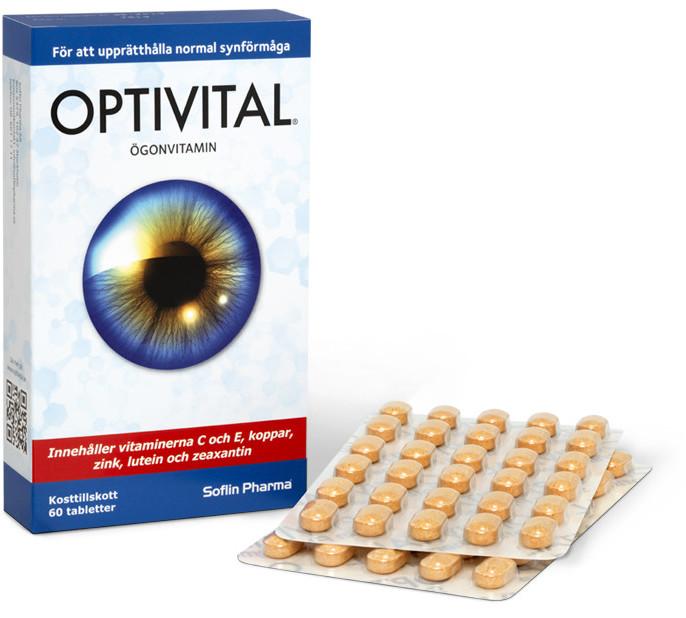 Optivital 60 tabletter